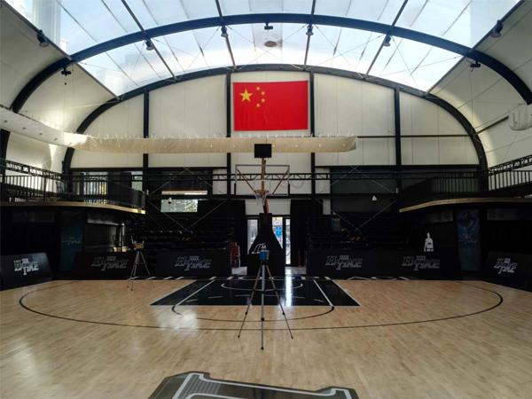 世贸天阶篮球馆空气检